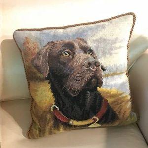 Other - Labrador Retriever chocolate lab decor home pillow